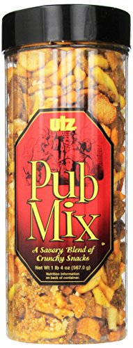 Utz Pub Mix Barrel, 20 Ounce