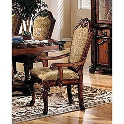 Acme Chateau De Ville Dining Side Chair in Cherry (Set of 2)