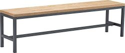 Finch FUCN10049A Robson Dining Table Bench Natural & Black