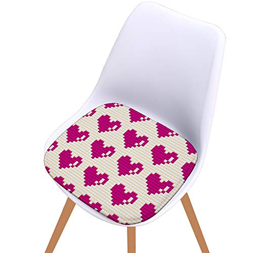 Hot Sale!DEESEE(TM)Printed Cotton Seat Pad Outdoor Dining Room Garden Kitchen Chair Cushion (E)