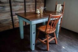 Dining Kitchen Nook Farmhouse Table – Solid Wood – Sugar Mtn Woodworks – Distr ...