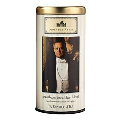 REPUBLIC OF TEA Downton Abbey Grantham Breakfast Blend Black Tea, 36 Count