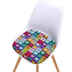 Hot Sale!DEESEE(TM)Printed Cotton Seat Pad Outdoor Dining Room Garden Kitchen Chair Cushion (A)