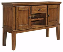 Ashley Furniture Signature Design – Ralene Dining Room Server – 2 Cabinets 1 Drawer  ...