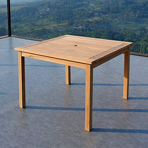 Cambridge-Casual AMZ-320283T Arie Teak Square Dining Table