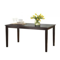 Better Homes and Gardens Bankston Rectangle 6-Person Dining Table, 58.5″ L x 35.5″ W ...