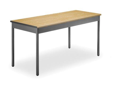 OFM UT2460-OAK Utility Table, 24 by 60-Inch, Oak