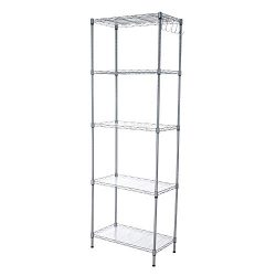 5 Storey Shelf Unit Organization and Storage Rack 5 Shooks Kitchen Shelf Homeware Storage Organi ...