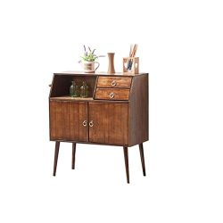 Solid Wood Sideboard Modern Simplicity Kitchen Bowl Cabinet Simple Cupboard Storage Box Living R ...