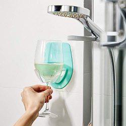 Wine Glass Holder,WensLTD Portable Watt Plastic Wine Glass Holder for The Bath Shower Red Wine G ...