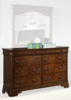 Liberty Furniture Industries 722-BR31 Alexandria 8-Drawer Dresser 64″ x 18″ x 40R ...