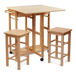 Civet Home TB07-0203-001-SG-A04 Table Set, Natural