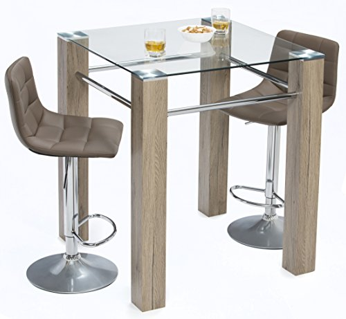 Mango Steam Mid Century Modern Pub Table