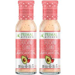 Primal Kitchen Avocado Oil Thousand Island Salad Dressing & Marinade, Whole 30 Approved & ...