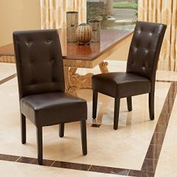 Christopher Knight Home 295204 Mira Dining Chair (Set of 2) Brown