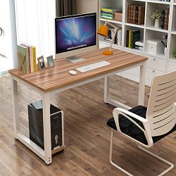 Toolsempire 47″ Office Computer Desk PC Laptop Dining Table Study Writing Desk Workstation ...