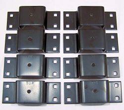 Pack'em Bolt-on Stake Pocket for Trailers & Trucks Racks (8)