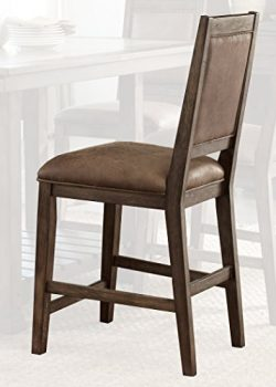 Liberty Furniture 466-C6501S Stone Brook Dining Upholstered Side Chair, 21″ x 25″ x  ...