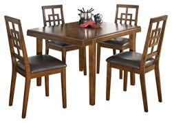 Ashley Furniture Signature Design – Cimeran Dining Room Table and Chairs Set – 1 Tab ...