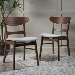 Christopher Knight Home 298972 Idalia Dining Chair Set Light Beige