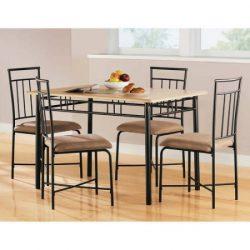 MS furniture Transitional 5 Piece Dining Set