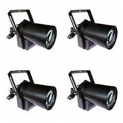 Pin Spot Beam Light 3W LED Min Stage Track Light for Kid's Theater Family Party Wedding Pub Club ...