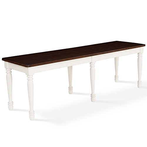 Crosley Furniture CF501118-WH Shelby Dining Bench, White