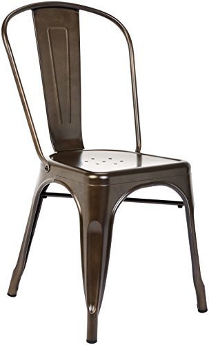 Pioneer Square Haley Stackable Metal Chair, Set Of 4