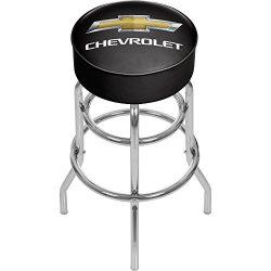 Chevrolet Padded Swivel Bar Stool