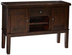 Ashley Furniture Signature Design – Haddigan Dining Room Server – Wine Rack –  ...