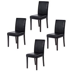 FDW Dining Chairs Dining Room Chairs Parsons Chair Kitchen Chairs Set of 4 Dining Chairs Side Ch ...