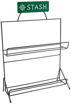 Stash Tea Ten Flavor Rack Only Display Rack for Boxes of Bagged Tea, Fits 30-Count Boxes of Stas ...