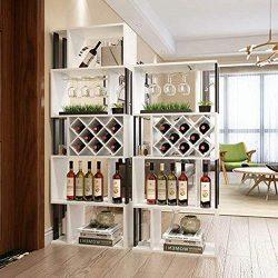 PLLP Bar Wine Rack, Wine Bottle Rack, Decorative Wine Rack,Wine Racks Floor-Standing Wine Cooler ...