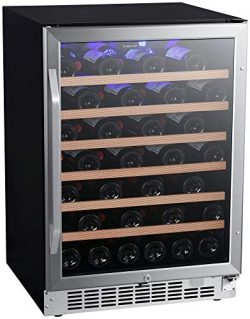 EdgeStar CWR532SZ 24 Inch Wide 53 Bottle Built-In Wine Cooler
