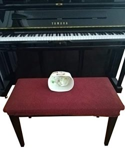 Waterproof Piano Bench Cover Protector – Perfect For Pets, Kids, Elderly, Wedding, Party & ...