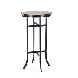 Bar Height Round Tables,Pub Bistro Cocktail Pedestal Table,Kitchen, Dining&Living Room Table ...