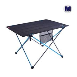 Azarxis Lightweight Portable Camping Folding Table, Compact Roll Up Collapsible Tables with Carr ...
