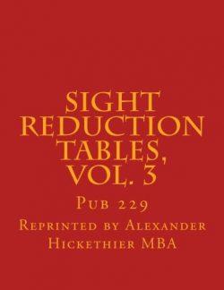 Sight reduction Tables, Vol. 3: Pub 229 (Nautical Sight Reduction Tables) (Volume 3)