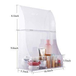 Zhiai Acrylic Cosmetics Storage Box Storage Box Display Cabinet Front Cover – Cosmetics St ...