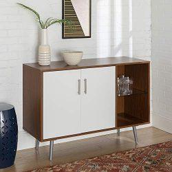 WE Furniture AZU44MCAPC TV Stand, 44″, Acorn