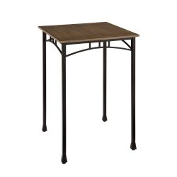 Modern Craftsman Oak Pub/Bistro Table by Home Styles