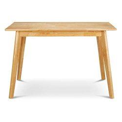 Civet Home TB02-0105-NAT-SG-A06 Modern Dining Table, Natural