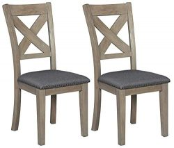 Signature Design by Ashley D617-01 Dining Room Chair, Aldwin