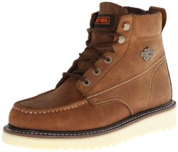 Harley-Davidson Men's Beau Motorcycle Boot, Tan, 12 M US