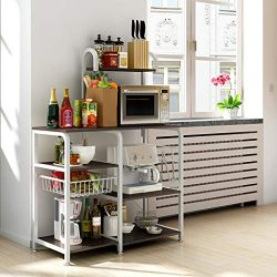 Samoii Kitchen Supplies Multifunctional Kitchen Rack Storage Counter Organizer Utensils Holder M ...