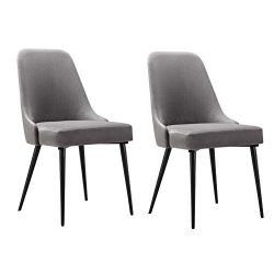 Ball & Cast HSA-D003 Dining Chair, Gray, Set of 2