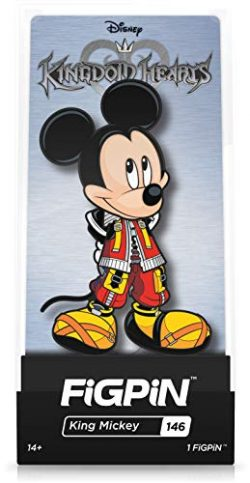 FiGPiN Disney Kingdom Hearts: King Mickey – Collectible Pin with Premium Display Case