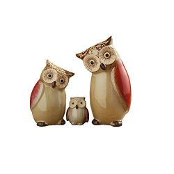 MSchunou Owl small ornaments home decorations, birthday gifts, creative cute indoor living room  ...