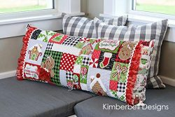 KIMBERBELL Ginger's Kitchen Bench Pillow Machine Embroidery CD KD586