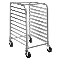 GRIDMANN Commercial Bun Pan Bakery Rack – 10 Sheet